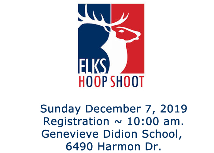 Elks 6 Hoop Shoot